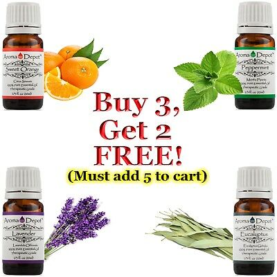 Essential Oil 10ml Therapeutic Grade 100% Pure Natural Undiluted Aceite Esencial