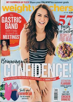 Weight Watchers Magazine July 2018 ~ Brand New ~ Fast & Free P&p ~