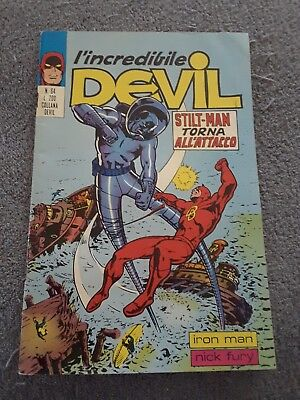 DAREDEVIL ITALIAN  (I'INCREDIBILE DEVIL) (1972 Series) #64