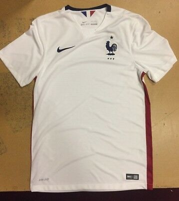 NIKE FRANCE OFFICIAL Jersey White Brand New w  Tags -  44.64  ade446fea