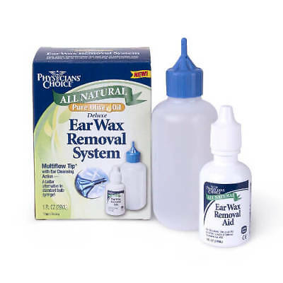 Physician's Choice All Natural Deluxe Ear Wax Removal System, 1 oz EXP 06/2021