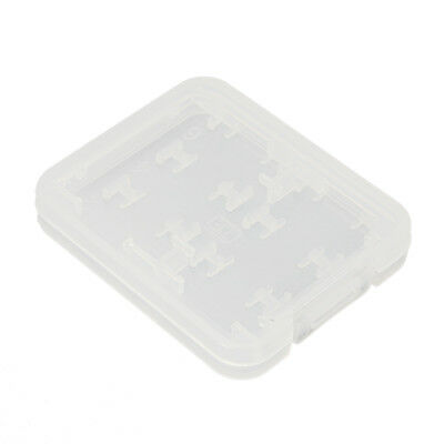 8 in 1 Plastic SD SDHC TF MS Memory Card Storage Case Box Protector Holder Y8H6