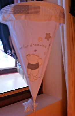 Baby Nursery Disney Ceiling Light Shade Winnie The Pooh And Friends (Up Lighter)
