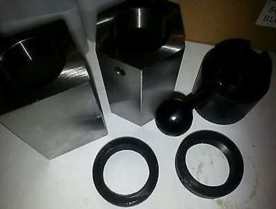 5C Collet Block Set - Square, Hex, Rings & Lever Collet Closer