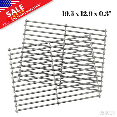 Weber 7528 Set of 2 Stainless Steel Cooking Grates for Spirit and Genesis Models