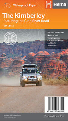 Hema The Kimberley including the Gibb River Road Map *FREE SHIPPING*