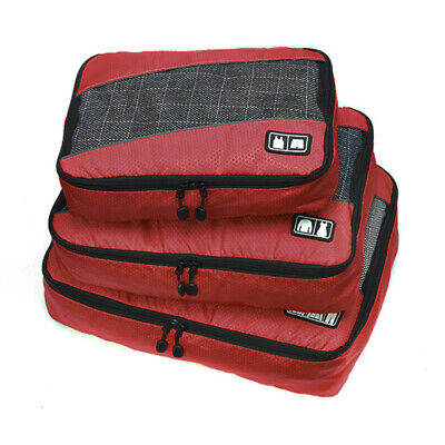 Edge Packing Cubes - SET of 3 RED- BRAND NEW!