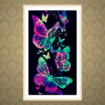 Butterfly 5D Diamond Embroidery Painting DIY Crafts Cross Stitch Home Decor