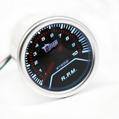 "Car Auto Universal Digital LED Tachometer Tacho Tester Gauge Meter  2"" 52mm"