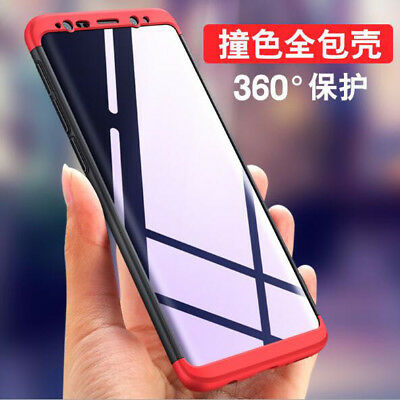For Samsung Galaxy S9+ Shockproof 360° Full Protective Hybrid Armor Case Cover