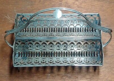 Antique American Sterling Silver Sugar Cube Tray early 1900's
