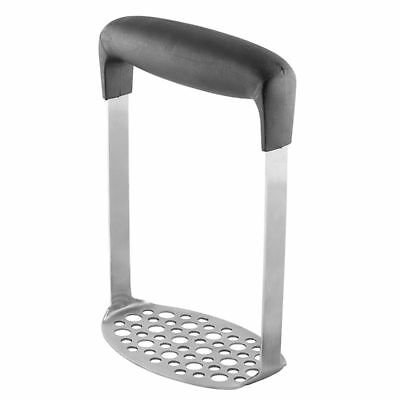 Stainless Steel Potato Masher with Broad and Ergonomic Horizontal Handle – A1U2