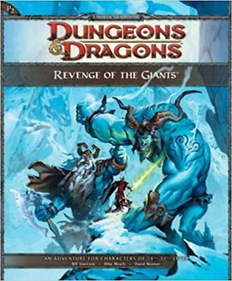 Dungeons & Dragons - Revenge of the Giants Hardcover - ENG - NEU