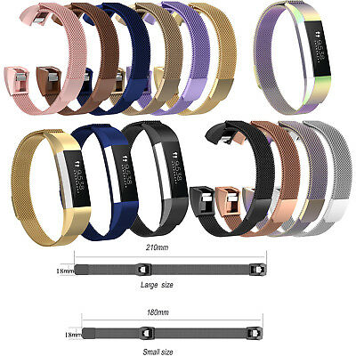 Milanese Magnetic Wrist Band Strap w/pins for Fitbit Ace Kids Activity Tracker