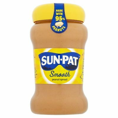 Sun-Pat Peanut Butter Smooth (454g) - Pack of 6