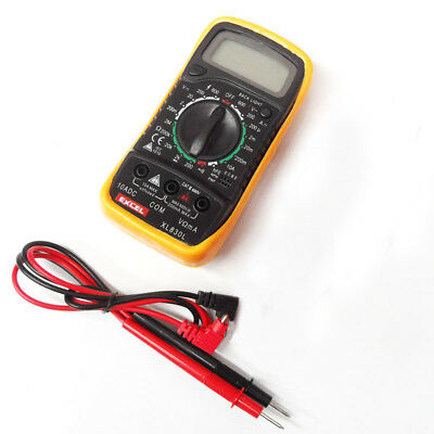 XL830L LCD Digital Multimeter light, AC DC Voltmeter Ohmmeter Multi Tester X6Y4