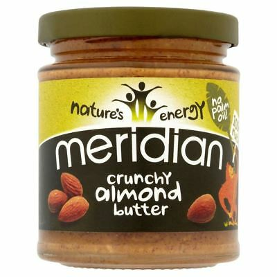 Meridian Crunchy Almond Butter (170g) - Pack of 6