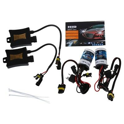 H4-2 H4-L 55W 6000K 9-16V Xenon HID Conversion Kit Ensemble Remplacement fa B2M3