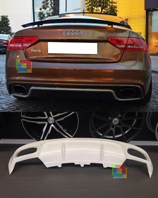 Audi A5 Coupe 2007-2011 Rear Diffusor Underbumper Rs5 Only Sline Bumper - At