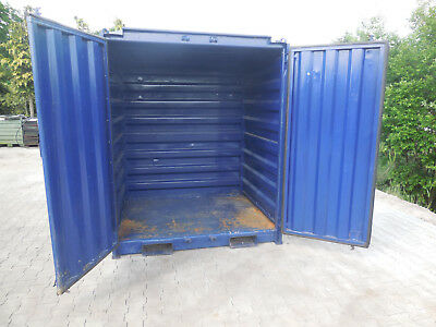 Seecontainer, Lagercontainer, Baucontainer, Paketstation, guter Zustand