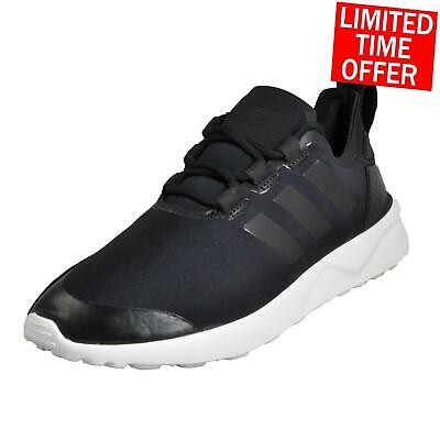 bbfb02332 Adidas Originals ZX Flux ADV Verve Womens Classic Casual Retro Trainers  Black