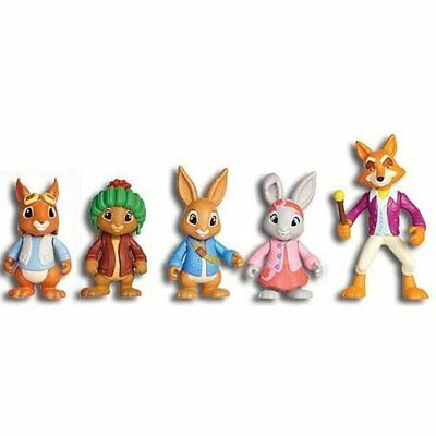 Peter Rabbit & Friends Figures Adventure Set With Posable Arms Nick Jr Kids Toys