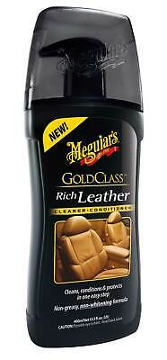 Meguiars Gold Class Rich Leather Cleaner Conditioner Lederpflege G17914 Ledergel
