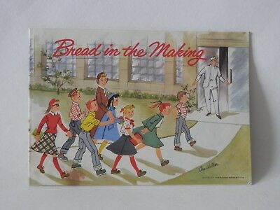 "Vintage 1950's  ""Bread In The Making"" Field Trip Booklet Kreamo South Bend book"