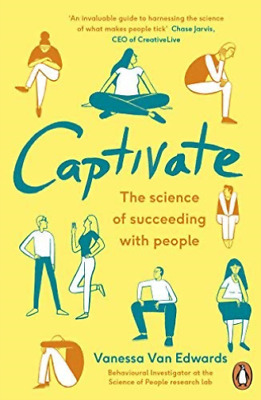 Vanessa Van Edwards-Captivate  BOOK NEW