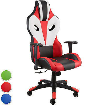 Office Chair Racing Gaming Computer Desk Swivel Sport Executive Faux Leather