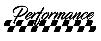 Aufkleber Performance Rennflagge Auto Sticker Tuning Jdm Decal Vw Bmw Audi Gti