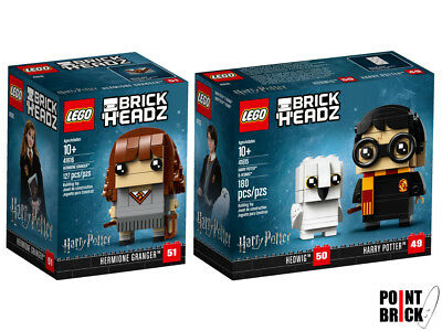 LEGO BRICKHEADZ Harry Potter - Harry Potter & Edvige - Hermione Granger