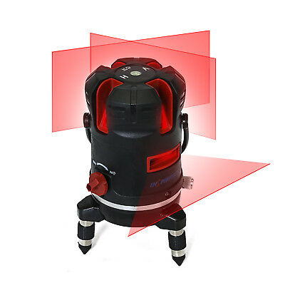 3D Laser Level Red Line  5 Lines 6 Points 360° Rotary with Outdoor/Tilt Model