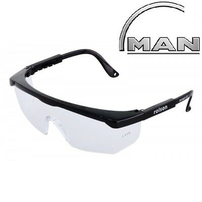 2 X Visitor Safety Glasses Spectacles Over Specs Eye Protection Overspecs 60399