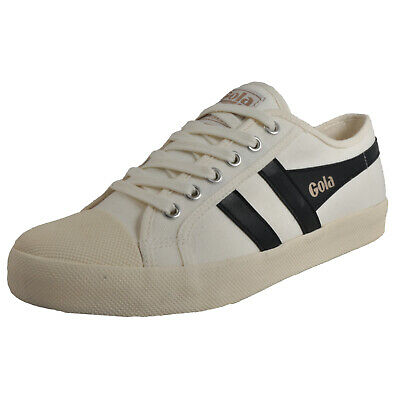 Gola Classics Coaster Men's Casual Retro Plimsol Fashion Trainers White