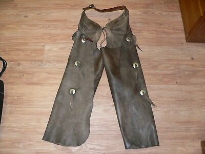 Miller Brothers 101 Ranch Rodeo Batwing Chaps