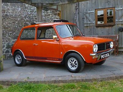 1972 Mini Clubman 1275 GT Unique 'Two Owner' And Immaculate Example
