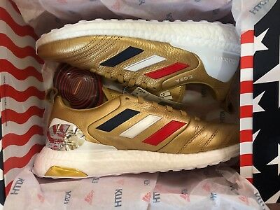 official photos 0b7ea f7b05 Kith x Adidas COPA Mundial 18+ Ultra Boost Kith Golden Goal - Size 8 IN