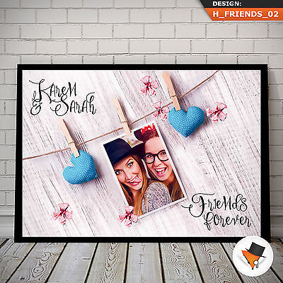 Personalised Gift For Bestie B Best Friend At Birthday Any Occasion