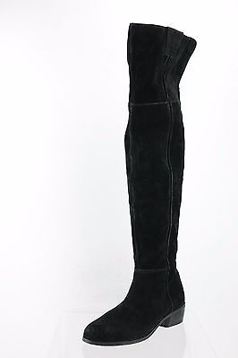 7e1f1f9ef581 Sam Edelman Johanna Black Suede Over the Knee Boots Women s Shoes Size 7 M  NEW