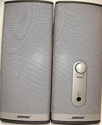 Bose Companion 2 Series II Multimedia PC Computer Stereo Speakers SOUNDS GREAT