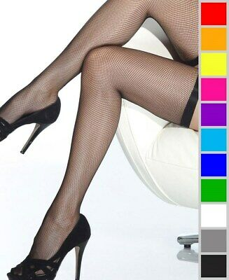 New Coquette 1735 Fishnet Thigh High Stockings With Elastic Top
