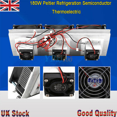 Max.180W Peltier Semiconductor Refrigeration Air Conditioner System Cooler Kit