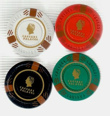 *Reduced* ..CAESARS PALACE ..100 CASINO CHIPS sealed UNOPENED 2004