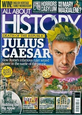 All About History Magazine #63 2018 Julias Caesar ~ Building The Big Apple ~ New