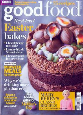 Bbc Good Food Magazine Issue March 2018 ~ Easter Bakes ~ Mary Berry's Classics