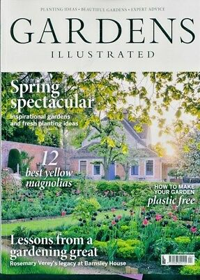 Gardens Illustrated Magazine Issue April 2018 ~ New ~