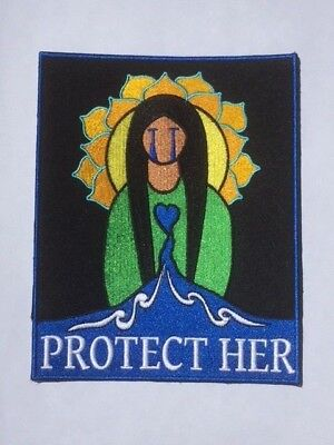 """Water protector patch: """"Protect Her""""     (7"""" L x 5.5"""" W)"""