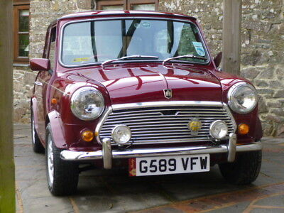 Classic Austin Mini 30 Limited Edition On Just 10800 MIles From New