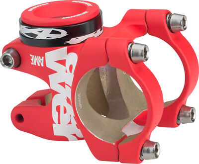 Answer ATAC AME 31.8 Stem 30mm +/- 0 Degree Red